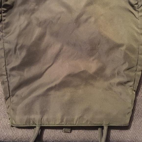 Prada Bags - PRADA olive army green nylon tote