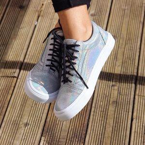 81373355dba1 Vans Shoes - Vans Old Skool Holographic Hologram Holo Sneakers