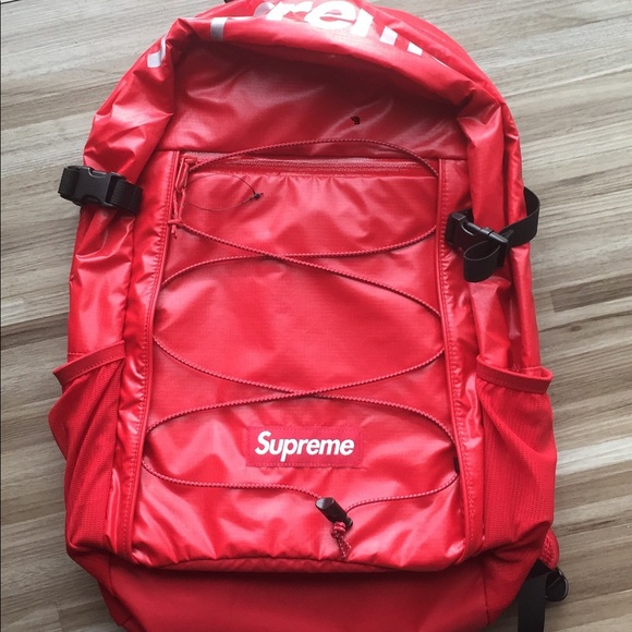 5f9d6cc12b2 Supreme Bags | Backpack Red Box Logo | Poshmark