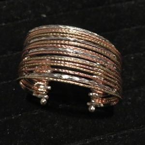 Jewelry - Silver and gold bracelet