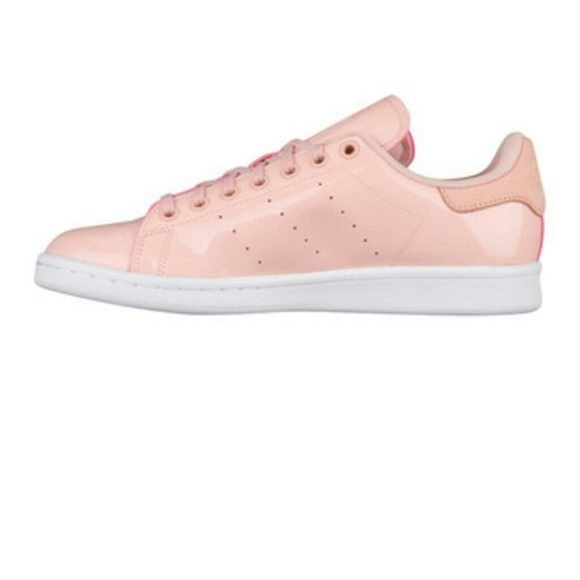 adidas Shoes - NWT adidas Stan Smith Glossy Pink Patent Leather
