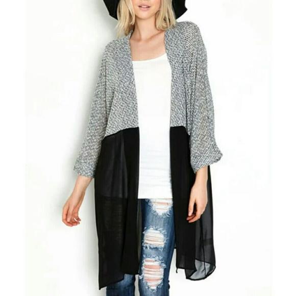 59% off Sweaters - ♥ Nicole Kimono Cardigan L & XL from ...