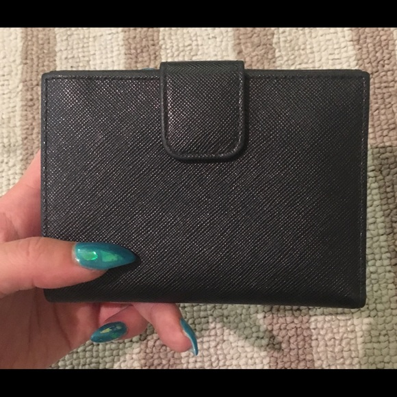 Prada Bags - ❌SOLD❌ Prada Saffiano Portafoglio Metal Wallet