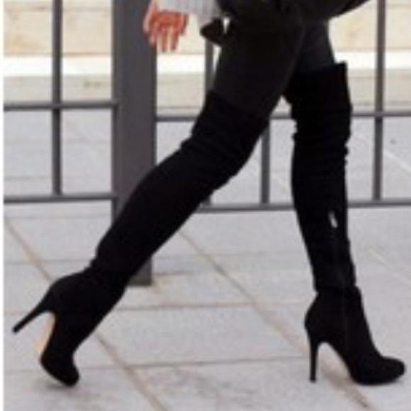 6e09e60da239ec Sam Edelman Kayla Suede Over the Knee Boots