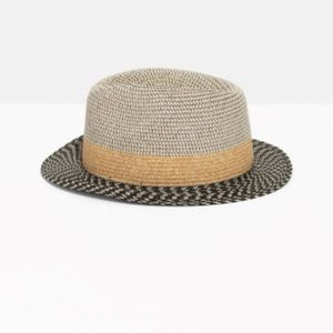 & Other Stories Straw Fedora Hat