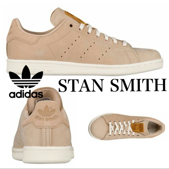 8e02d0b4a1f028 NWT adidas Stan Smith Suede Leather Tan Sneaker
