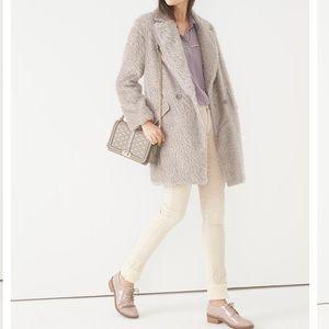 REBECCA MINKOFF Furry Sam Coat
