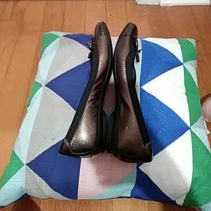 Clarks Shoes - Clark Bronze & Black Loafers