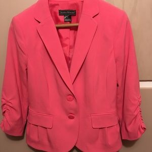 Jessica Howard pink blazer jacket 6