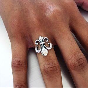 Jewelry - Sterling Silver Fleur De Lis Ring