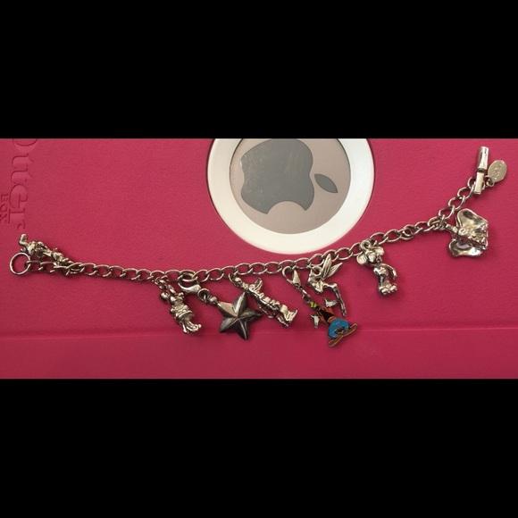 Disney Jewelry Sterling Silver Charm Bracelet Poshmark