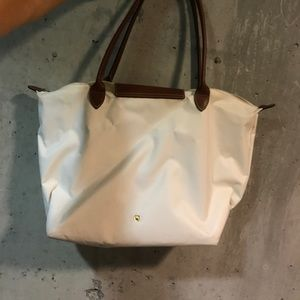 White Longchamp
