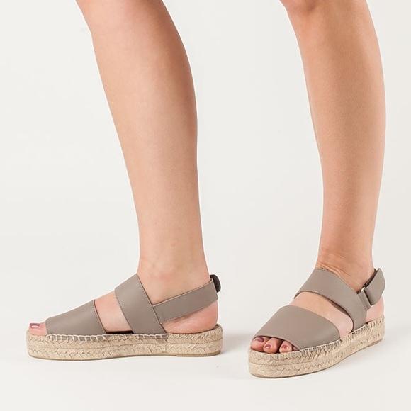 168039587e5b Vince Shoes | Emilia Open Toed Espadrilles Flat Sandals | Poshmark