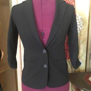 Frenchi Black blazer xs