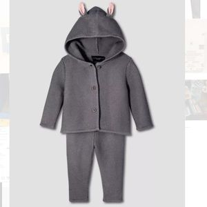 NWT victoria Beckham for target baby bunny NB