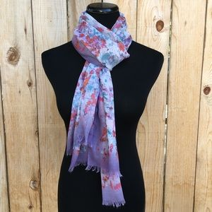 Accessories - 🆕 Floral & Purple Scarf