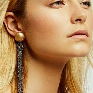 Free People Jewelry - Free People Statement Metal Tassel Earrings