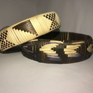 Jewelry - Woven Bracelets (set1of3) - BOTSWANA COLLECTION