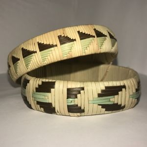 Jewelry - Woven Bracelets (set 2of3) - BOTSWANA COLLECTION