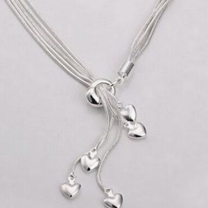 Jewelry - Beautiful Multi Heart Necklace