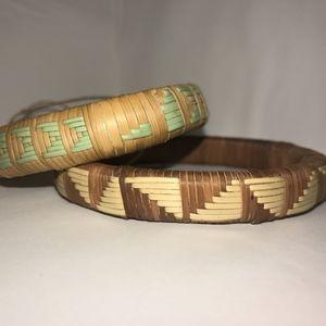 Jewelry - Woven Bracelets (set 3of3) - BOTSWANA COLLECTION