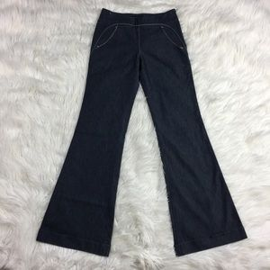 •• Anthropologie Jeans Flare Leg Flat Front Pants