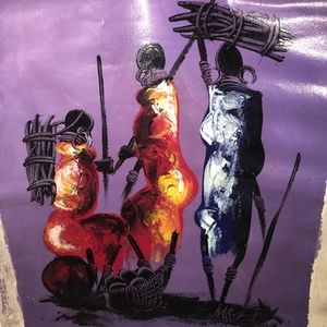 Other - One of a Kind Painting - BOTSWANA COLLECTION