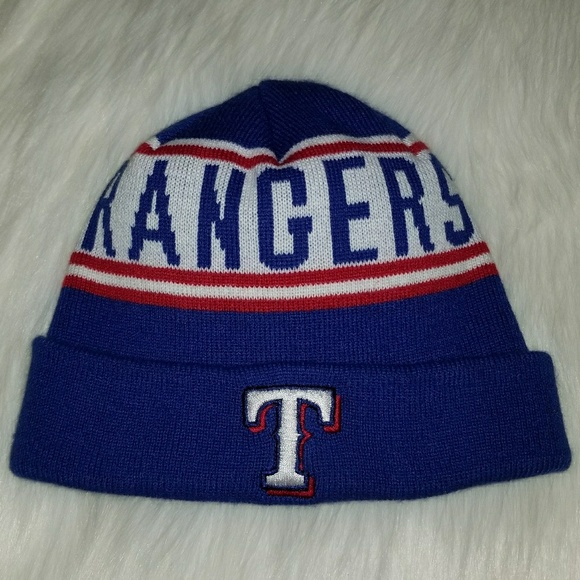 brand new 00197 28c45 MLB Texas Rangers Beanie Winter Hat Knit Hat