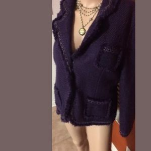 Dialogue Purple jacket S