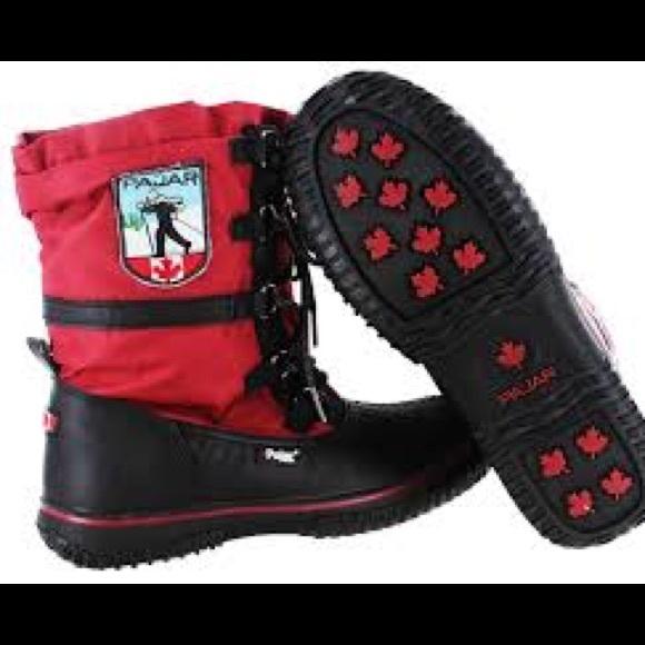 e725fd285d2d Pajar grip low faux fur waterproof boots. M 59ba2df8b4188e98fe00666c