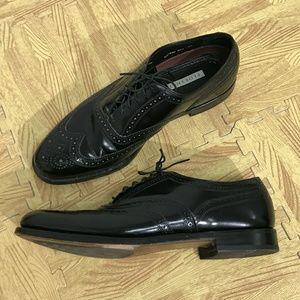 FLORSHEIM Men Lexington Wingtip Oxford Shoes Black