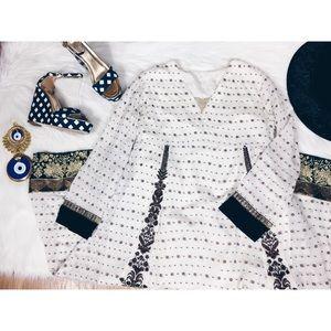Dresses & Skirts - Boho Custom Caftan Tunic Maxi Ethnic Dress SM