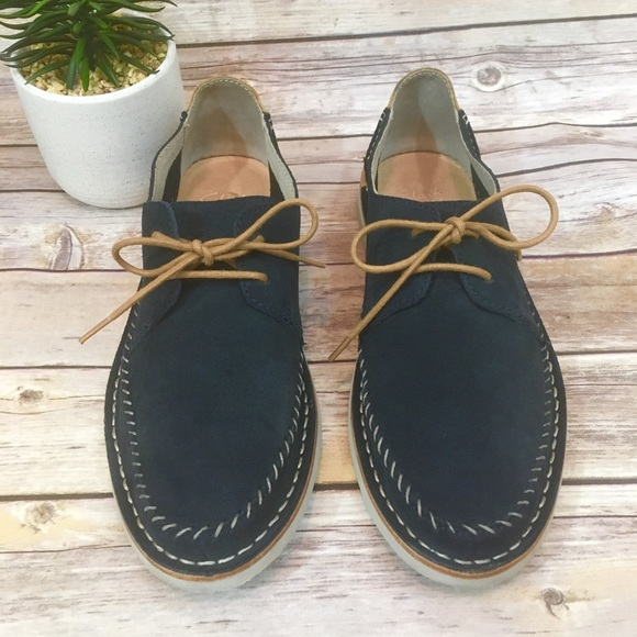 Clarks Other - CLARKS MENS SUEDE SHOES SIZE 9.5