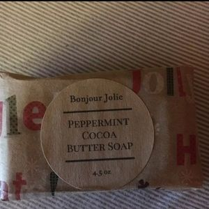 bonjour jolie Other - NEW Christmas Peppermint Cocoa Butter Soap