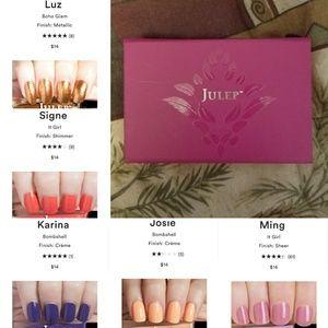 Julep Makeup - 13 piece Julep nail polish bundle