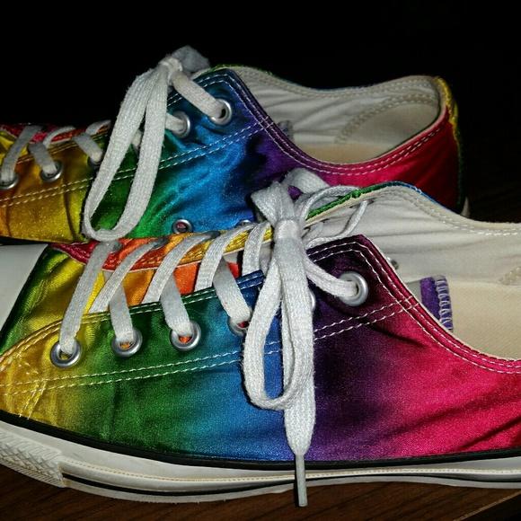 Converse Shoes - Rainbow Converse