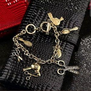 Jewelry - Cute Hair Stylist Charm Bracelet