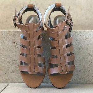 Whiskey Buttery Soft Strappy Gladiator Sandals