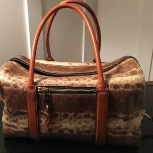 Authentic Chloe lizard skin handbag!