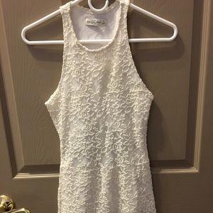 NWT Abercrombie Lace Bodycon Mini Dress