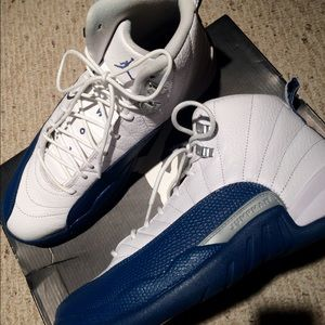 Air Jordan Shoes - Air Jordan 12 French Blue Size 8.5