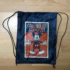 Bags - Drawstring Mickey Mouse backpack
