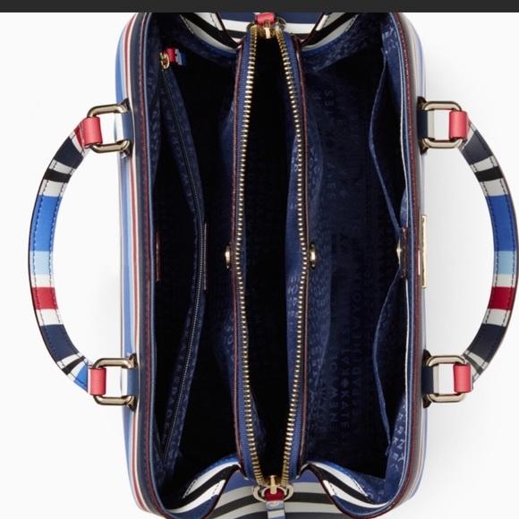 kate spade Bags - Kate Spade Stripe Evangelie Handbag