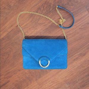 Blue Banana Republic Cross Body Bag