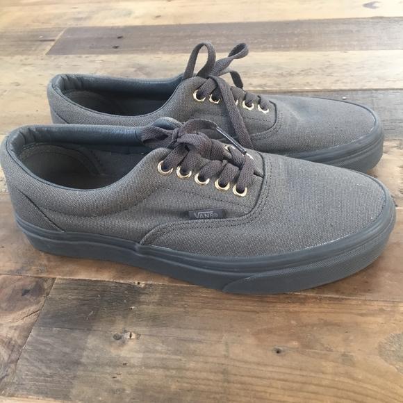 Vans Era Mono Grey Skate Shoes, size 9 (mens 7.5)