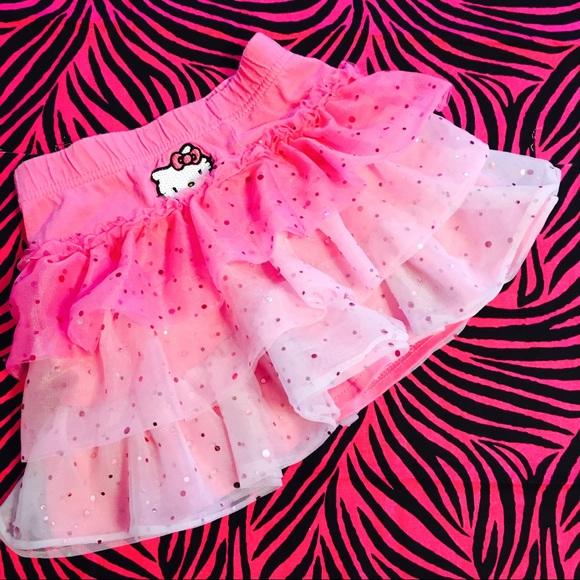04ca38b5 Hello Kitty Other - 🍗Hello Kitty Pink Ombré Sparkle Mini Skirt