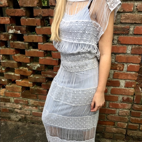7c9a5fde7896 Anthropologie Dresses & Skirts - Amelia Crocheted Maxi Dress from  Anthropologie