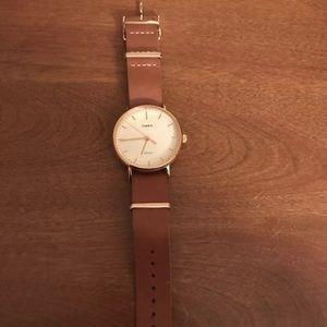 Women's Timex Leather watch