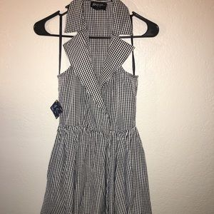 Gingham style dress from nasty gal