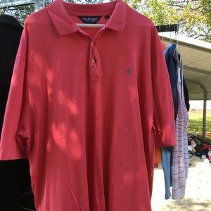Men's XL Polo Golf - pink